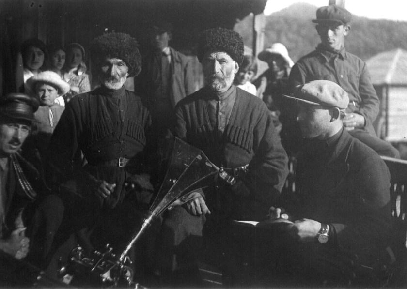 1936 год, народные певцы селения Гудусарати