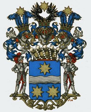 герб  баронов вревских