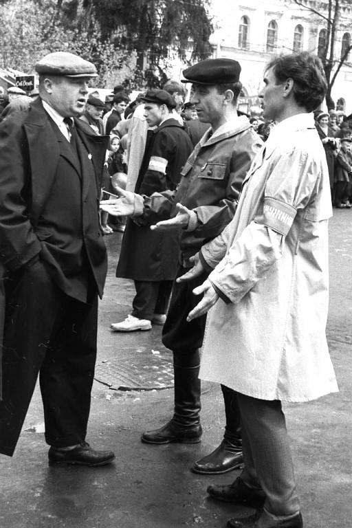 7 нояб 1964 г.попытка пройти через оцепление
