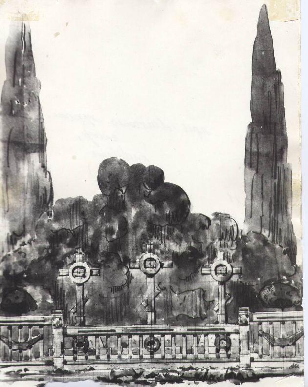 Копия проект памятника Караулову и его соратникам рядом с храмом