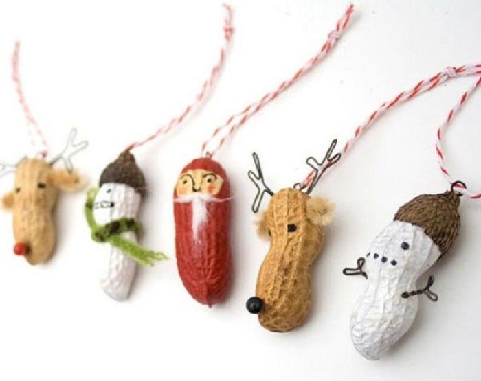 Игрушки из арахиса