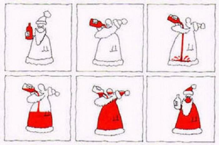 Шалости Деда Мороза