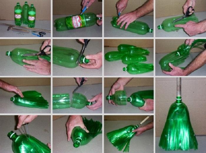 Метёлка из бутылок