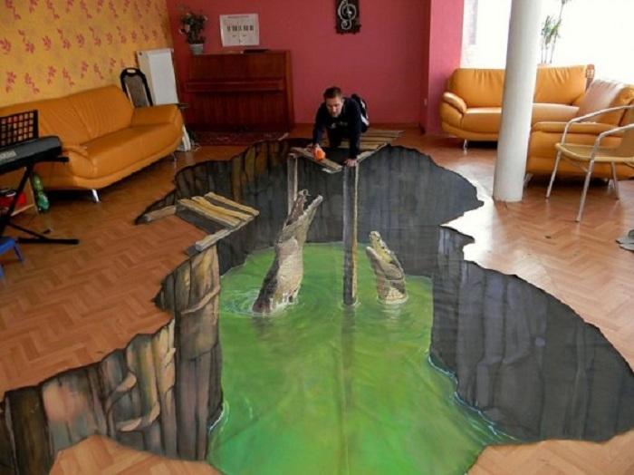 1 Крокодилы в комнате
