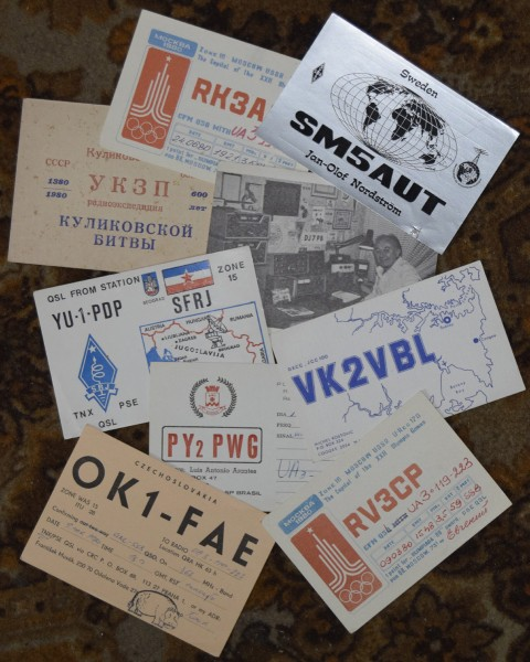 QSL-Collage
