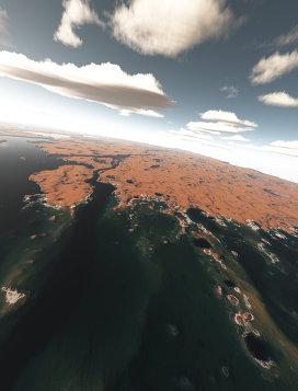 Марс-миллиард-лет-назад