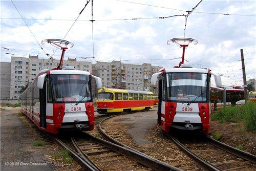 Семь новых трамваев