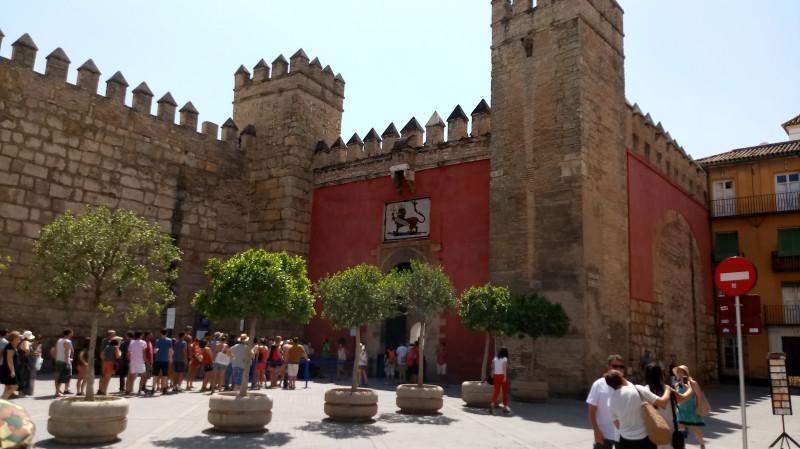 Дворец Алькасар, Севилья, Испания, 2018