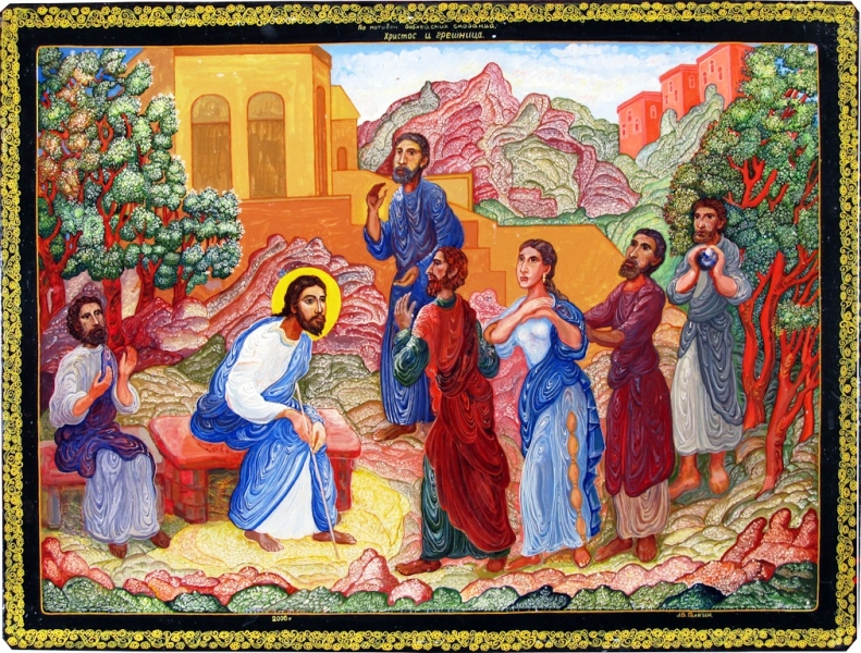 09_Христос и грешница, 2006