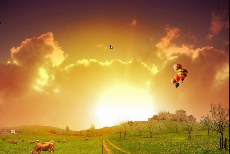 солнце и земля -2