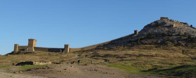 09. Крепость в Судаке
