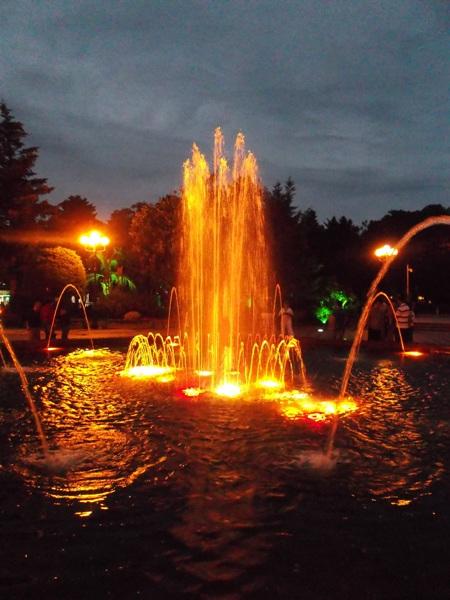 40 фонтаны