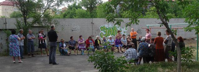 Встреча Яблочкова ТСЖ