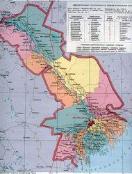 Карта Астраханской области1