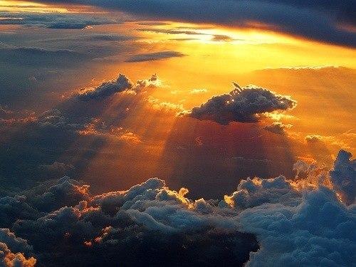 Свет. Небо. Облака