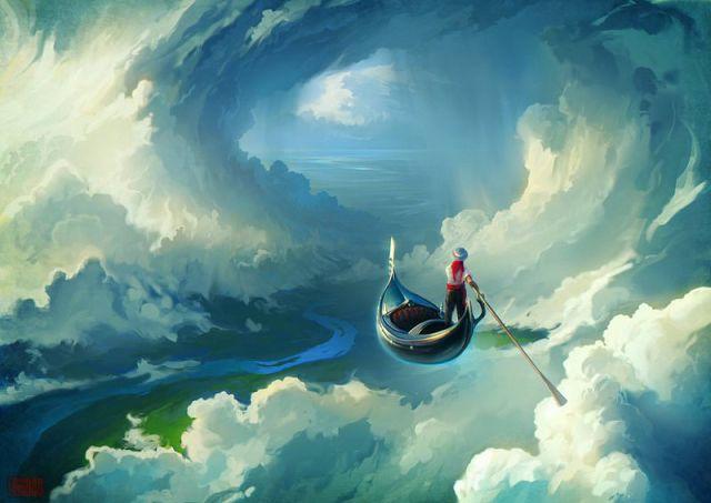 Небесное плавание