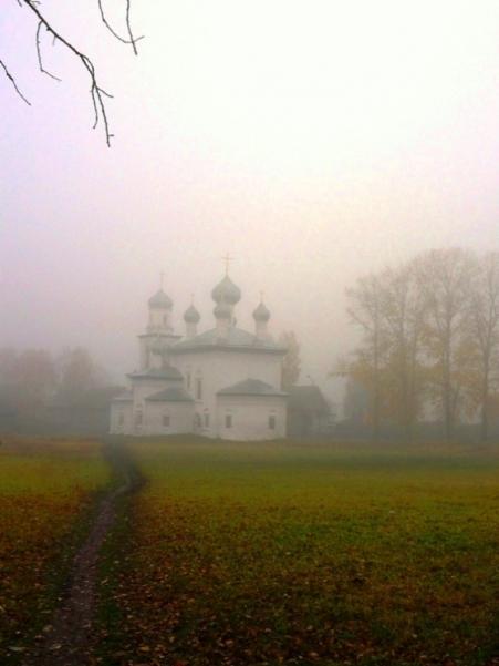 Христорождественский собор. Туман