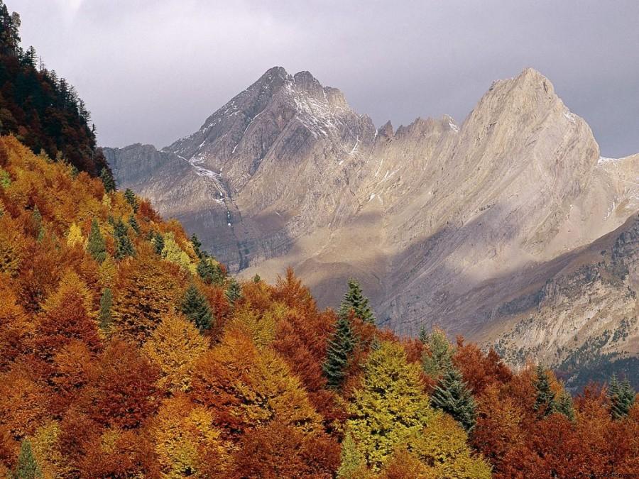 Осень. Горы