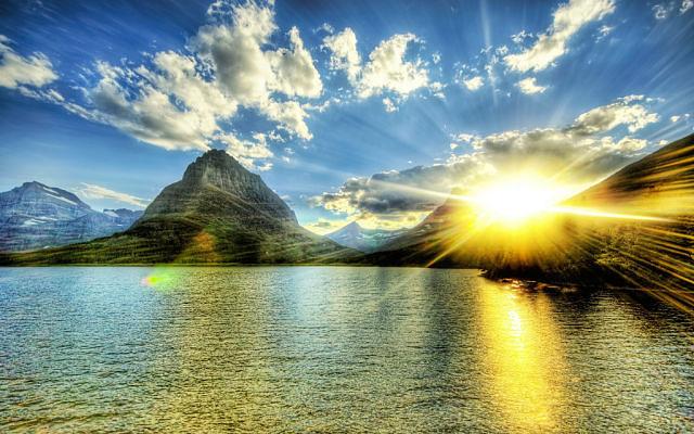 Море. солнце, небо, свет