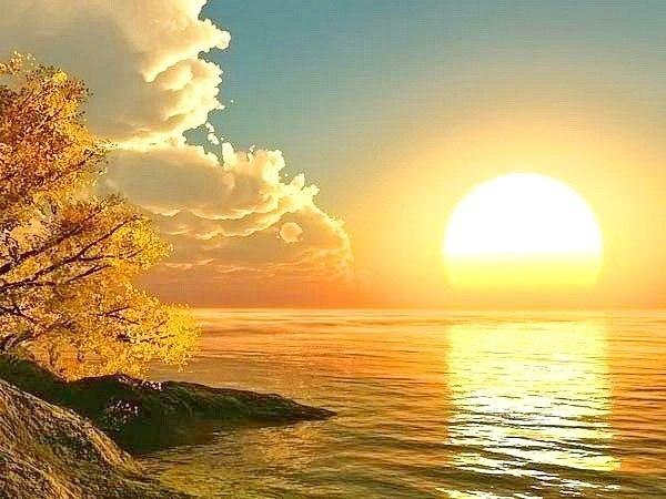 Солнце. Осень