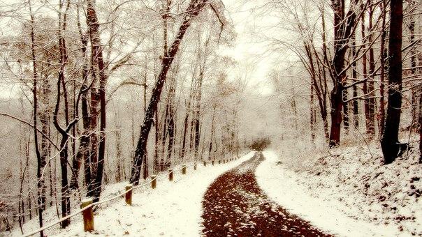 Зимняя молитва...