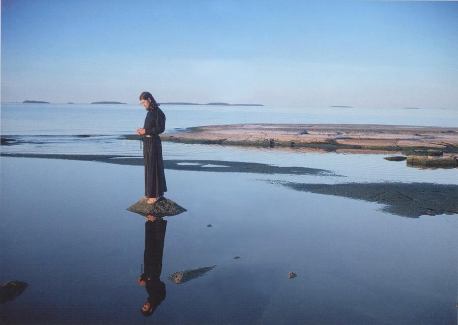 Монах. Молитва