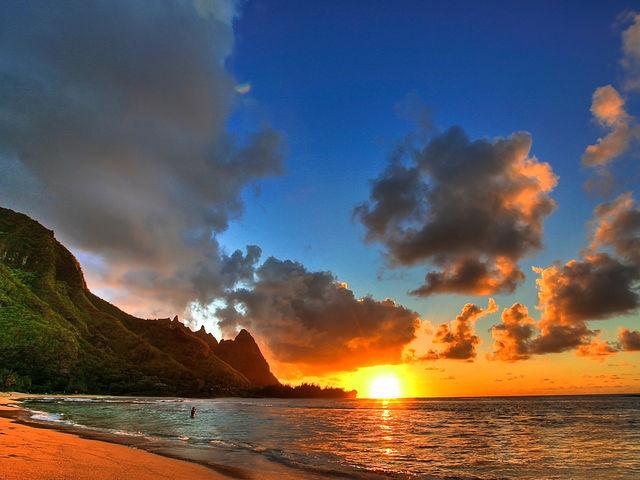 Море, небо, свет
