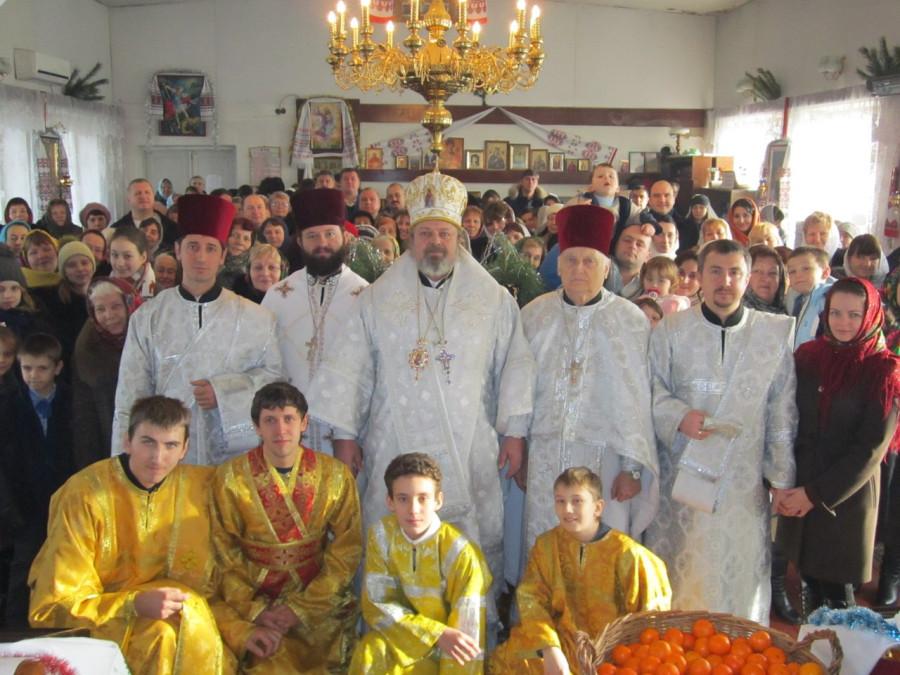 Луцкая община отпраздновала Рождество Христово (ФОТО, ВИДЕО)