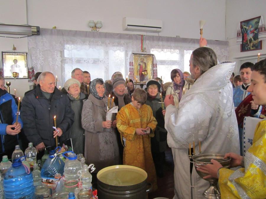 Праздник Сретения в общине Христова Воскресения (Луцк, АПЦ)