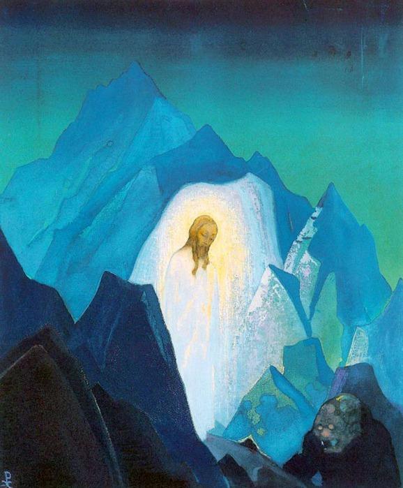 Рерих. Христос в пустыне