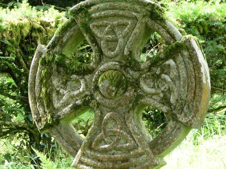 Древний крест. Времена языческие...