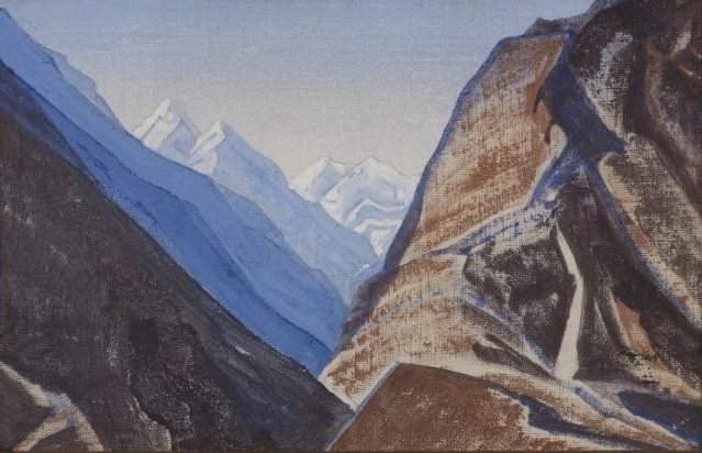 Berggezicht_in_de_Himalaja_[1931]