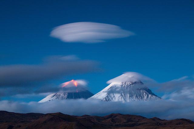 Горы голубые...