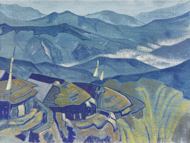 Village_from_the_Himalayan_series_[1924]