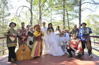 Олег Тиньков и жена Рина, свадьба на Байкале, июнь 2009 года. Блог Олега Анисимова