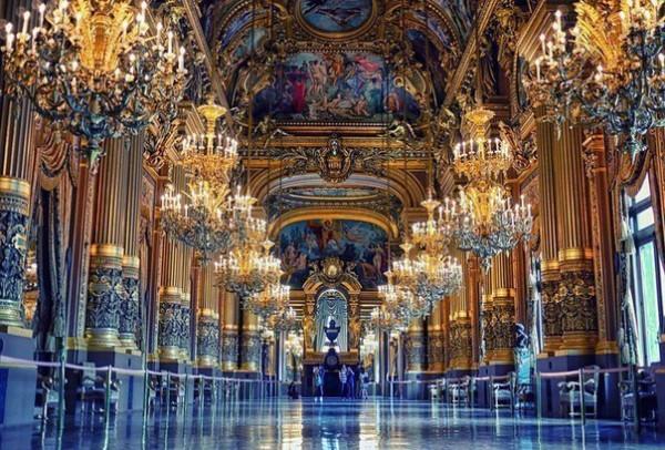 Парижская Опера.