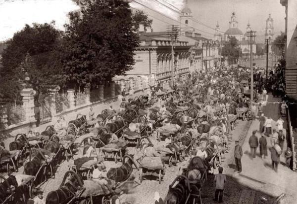 Пробка в Москве 1923 г. Ничего не изменилось...