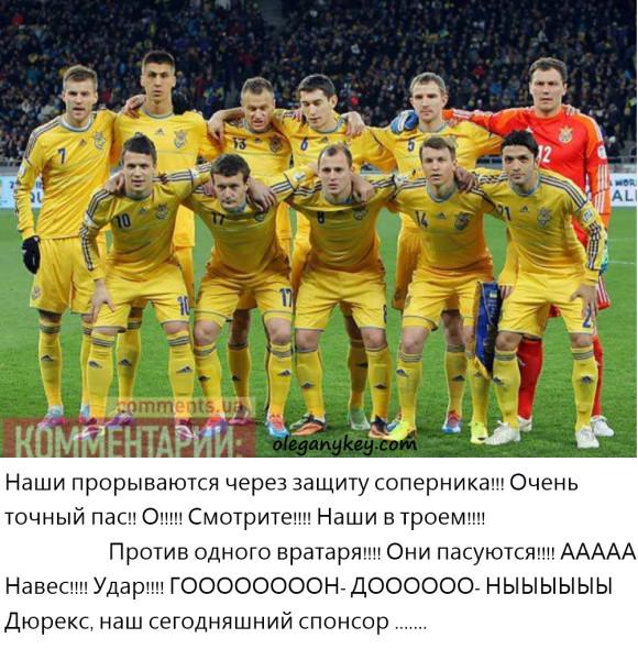 Сборная Украины по футболу 2013