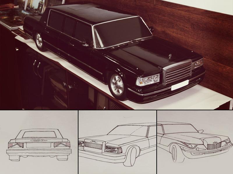Автомобиль для Путина. Зил