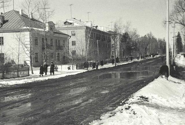 ул.Первомайская 1961