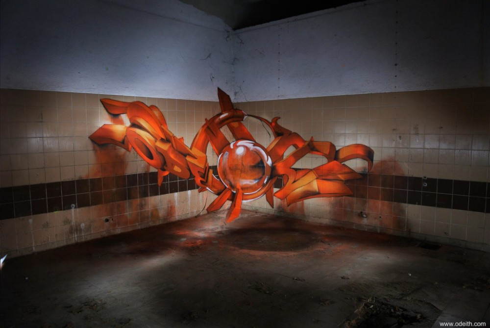 odeith-anamorphic-3d-graffiti-letters-orange-fluor-light-lisboa-portugal