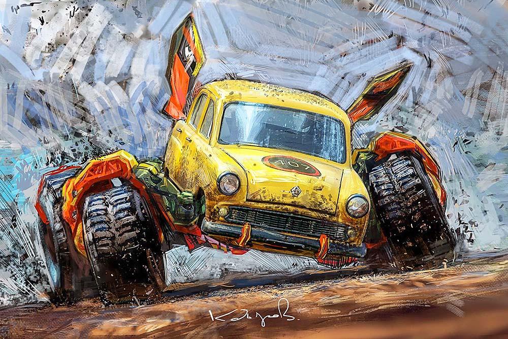 Виртуальный мир автомобильных фантазий от Daniyar Kdyrov (2).jpg