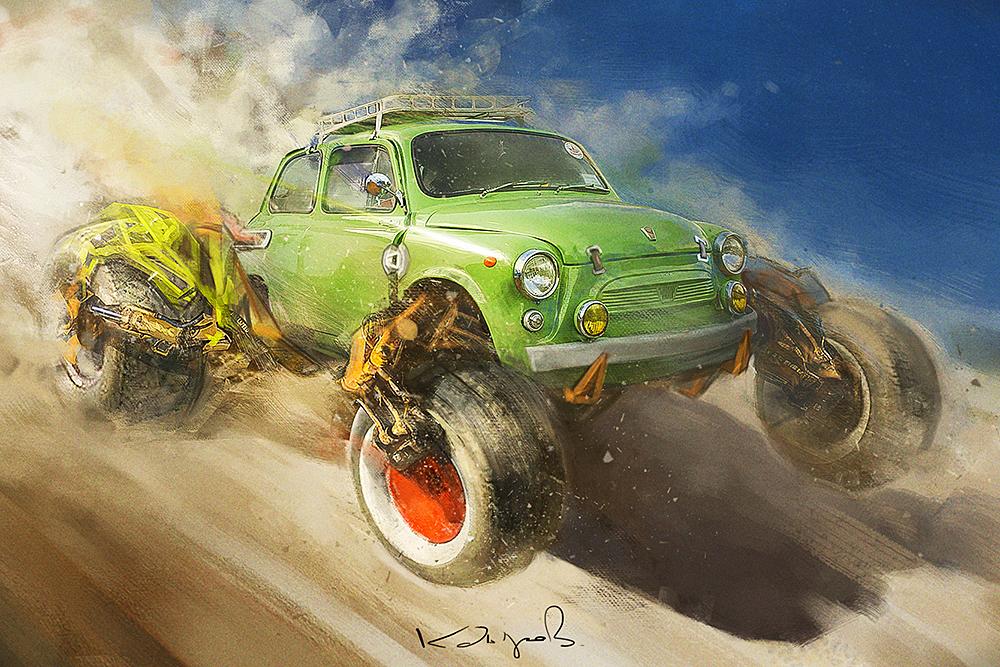 Виртуальный мир автомобильных фантазий от Daniyar Kdyrov (4).jpg