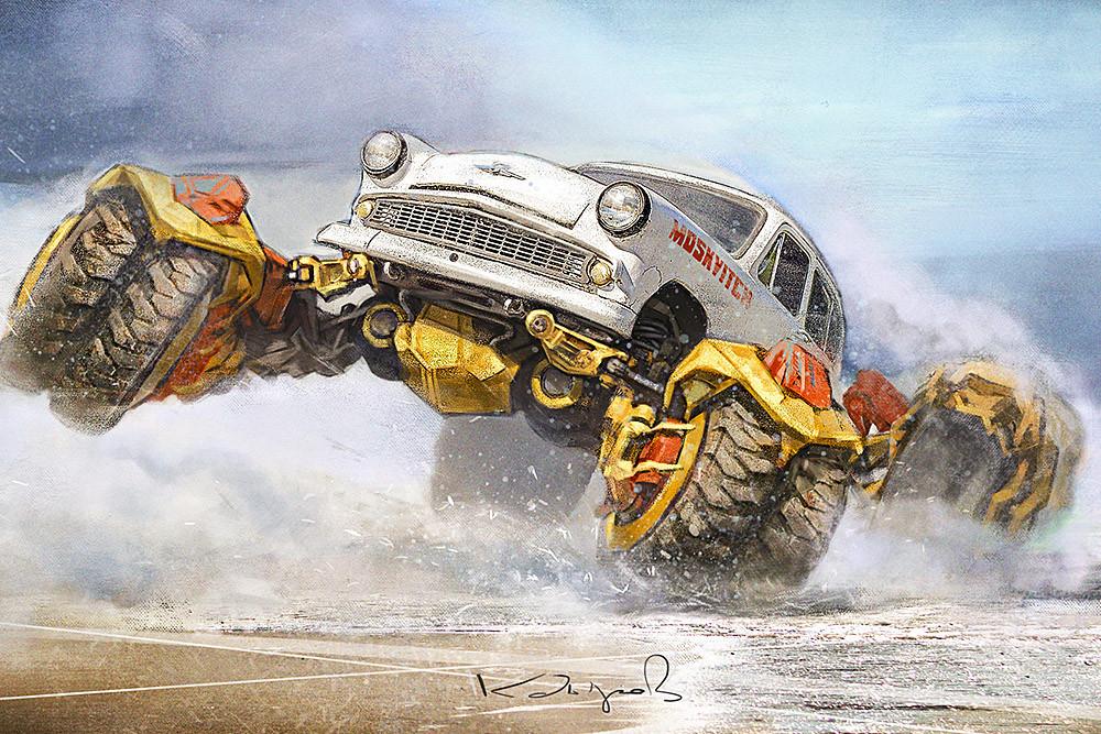 Виртуальный мир автомобильных фантазий от Daniyar Kdyrov (6).jpg
