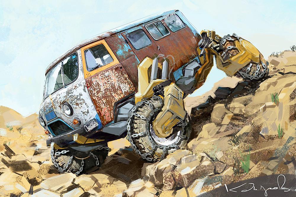 Виртуальный мир автомобильных фантазий от Daniyar Kdyrov (9).jpg