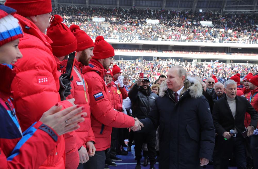 Путин заявил, что чувствует поддержку россиян
