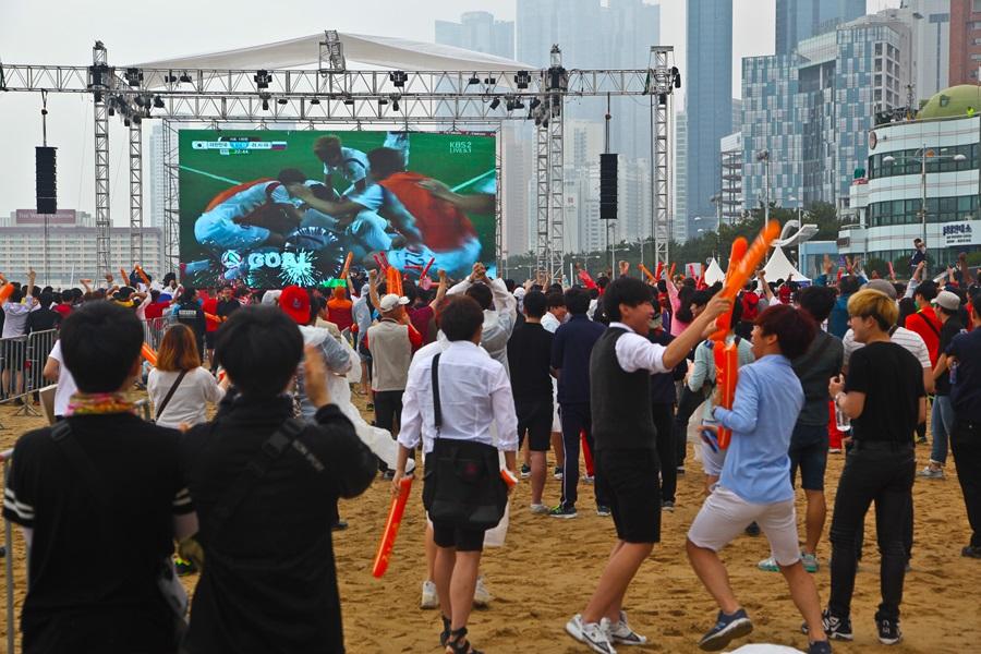 Фото болельщиков с матча россия корея