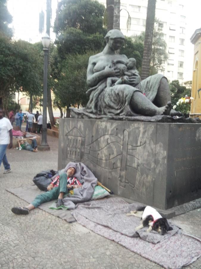 Отдых бразильцев