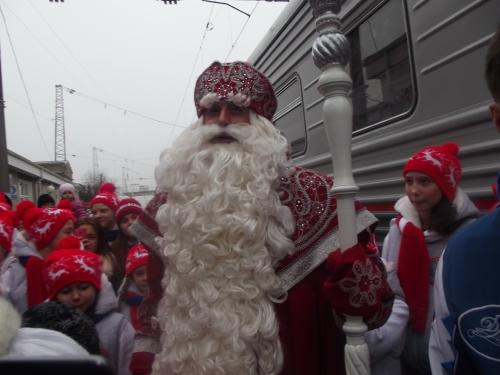 Прибытие Деда Мороза