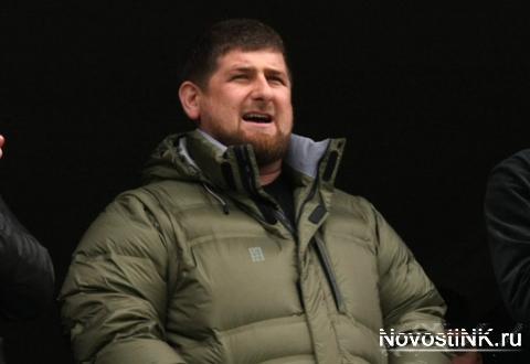 Кадыров на футболе
